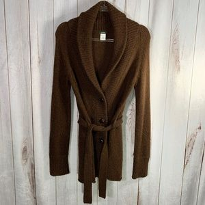 J. Crew Alpaca Cardigan Sweater